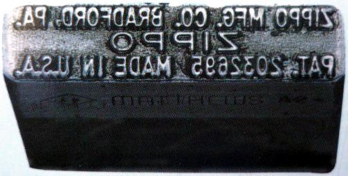 Date markings zippo Zippo Codes